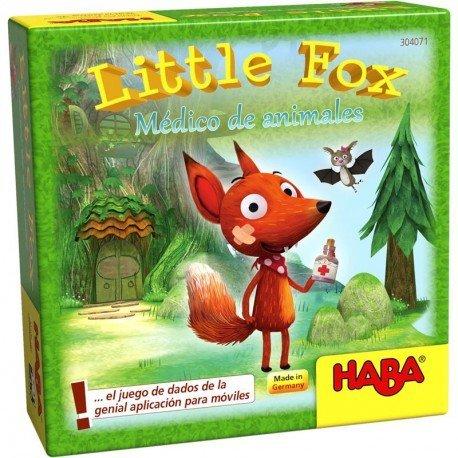 Juego haba little fox medico de animales