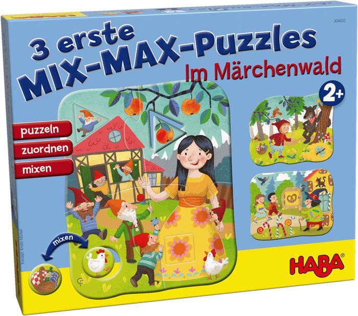 Puzzle haba 3 primeros puzzles mixmax en bosque de los cuent