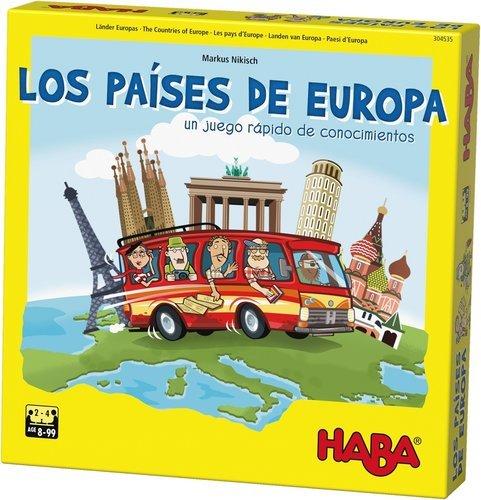 Juego haba los paises de europa