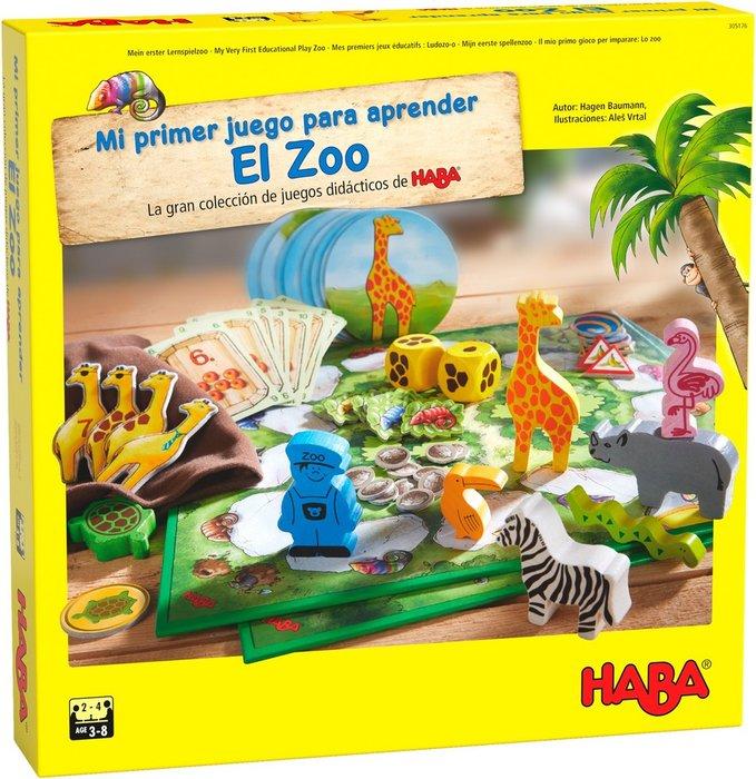 Juego haba mi primer juego para aprender el zoo