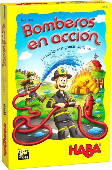 Juego haba bomberos en accion