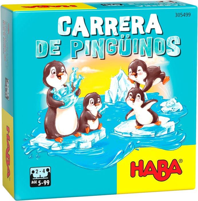 Juego haba carrera de pinguinos