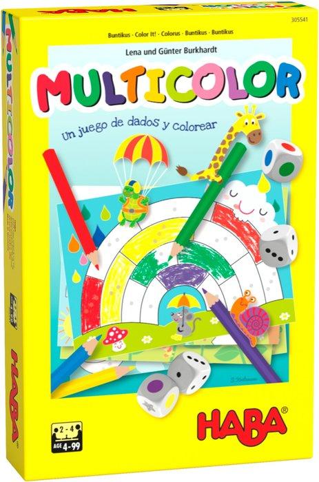 Juego haba multicolor