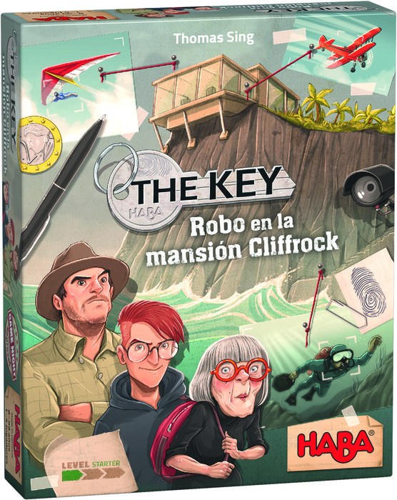 Juego haba the key robo en la mansion cliffrock