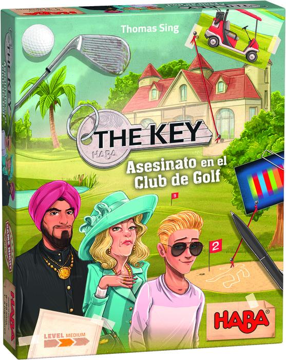 Juego haba the key asesinato en el club de golf