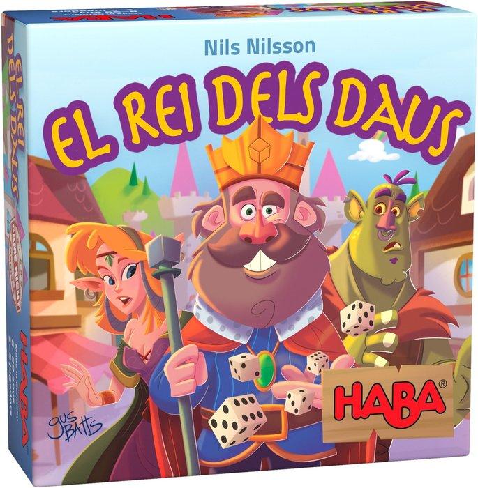 Joc de taula el rei dels daus catalan