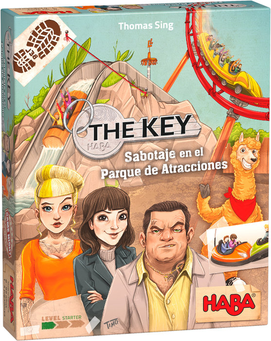 Juego haba the key sabotage en el parque de atracciones