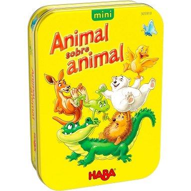 Juego haba animal sobre animal version mini