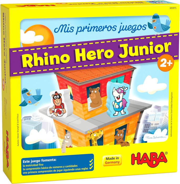 Juego haba mis primeros juegos rhino hero junior