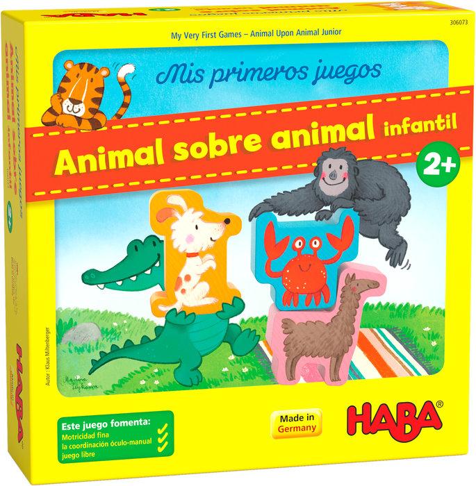 Juego haba mis primeros juegos  ? animal sobre animal