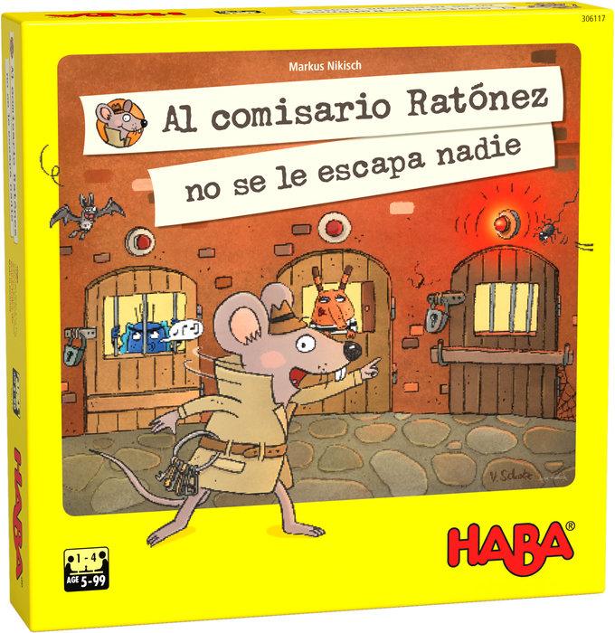 Juego haba al comisario ratonez no se le escapa nadie!