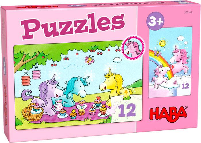 Puzzles haba unicornio destello ? rosalia y sus amigos