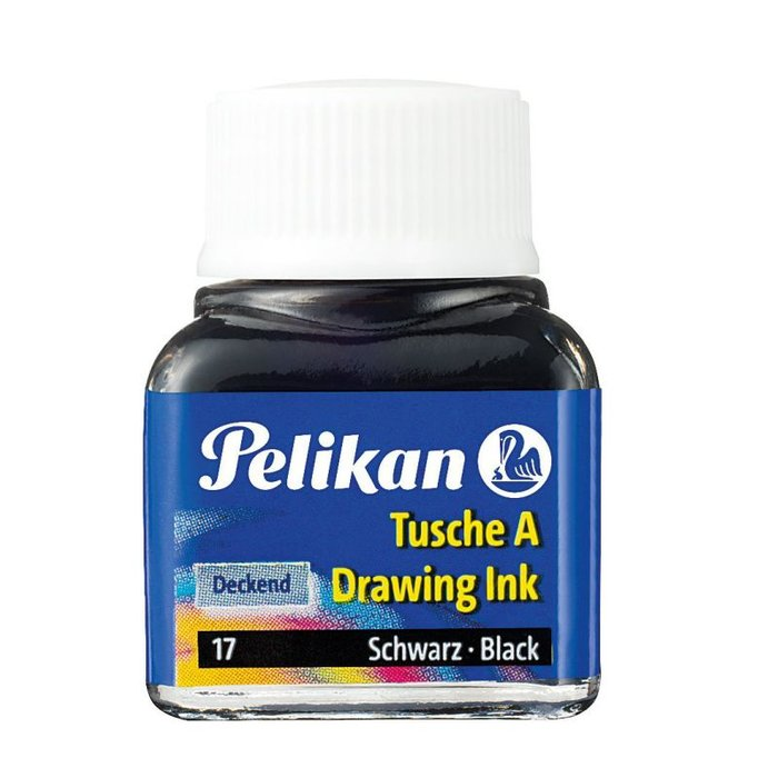 Tinta china pelikan 523/17 negro