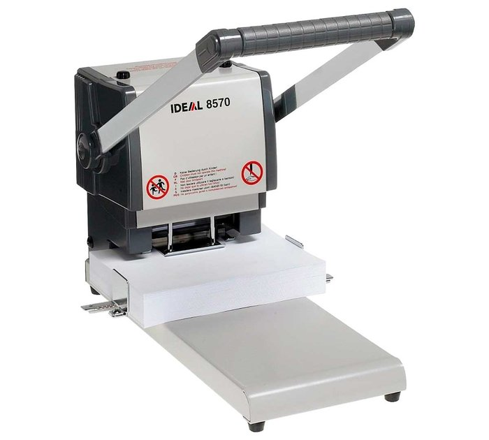 Taladradora 400 hoja ideal 8570 metalico 2/a