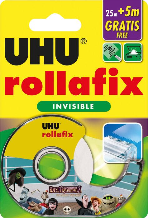 Rollafix invisible 25 m + 5 m gratis con dispensador