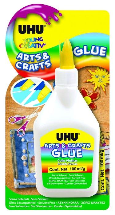 Cola vinilica uhu 100 ml arts and craft