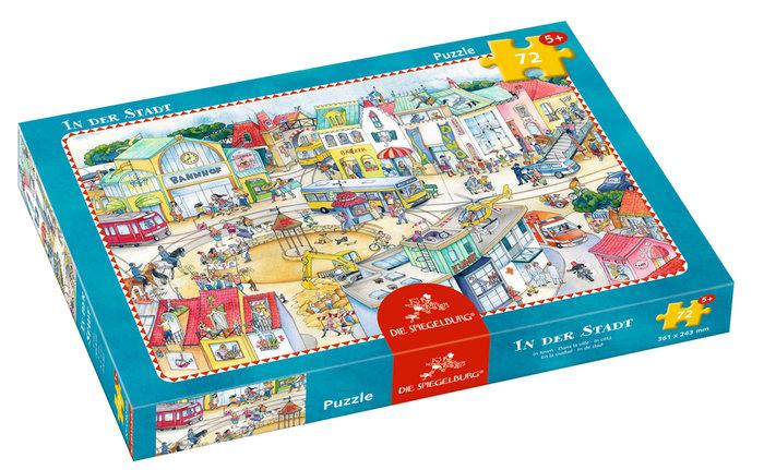 Puzzle en la ciudad 72 p
