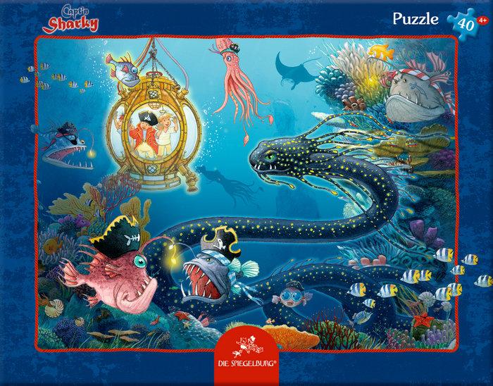 Puzzle capitan sharly mundo submarino 40 p