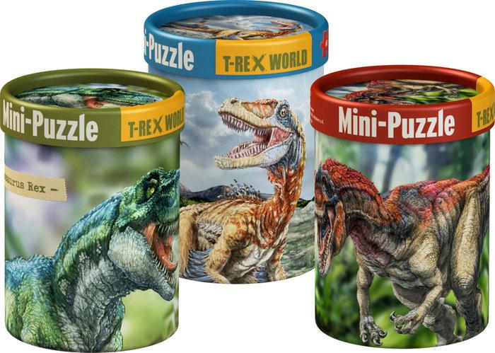 Mini puzle - mundo t-rex surtidos