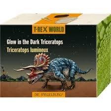 Triceratops luminoso-mundo t-rex