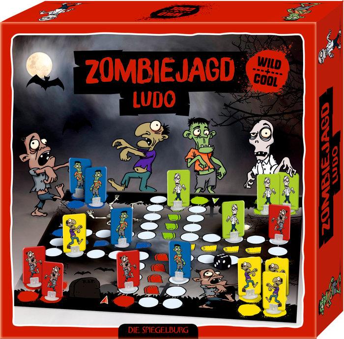 Juego parchis terrorifico zombies - chulo y salvaje