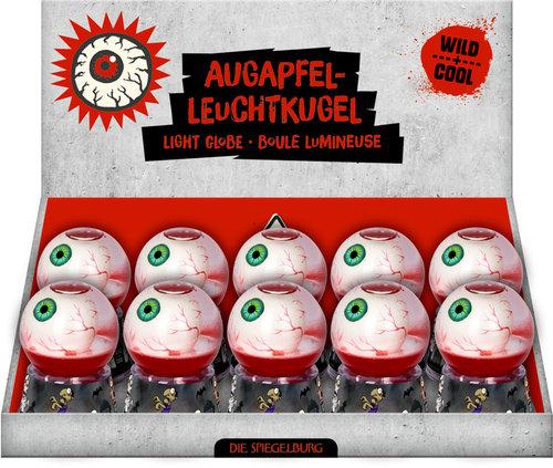 Expositor 10 bolas luminosa y terrorifica - chulo y salvaje