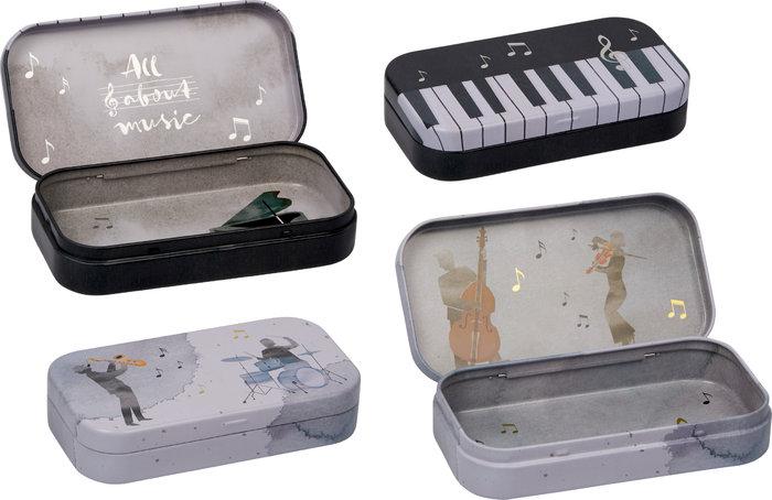 Bolsa de tela teclas de piano amantes de la musica