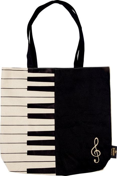Bolsa de la compra plegable notas de piano