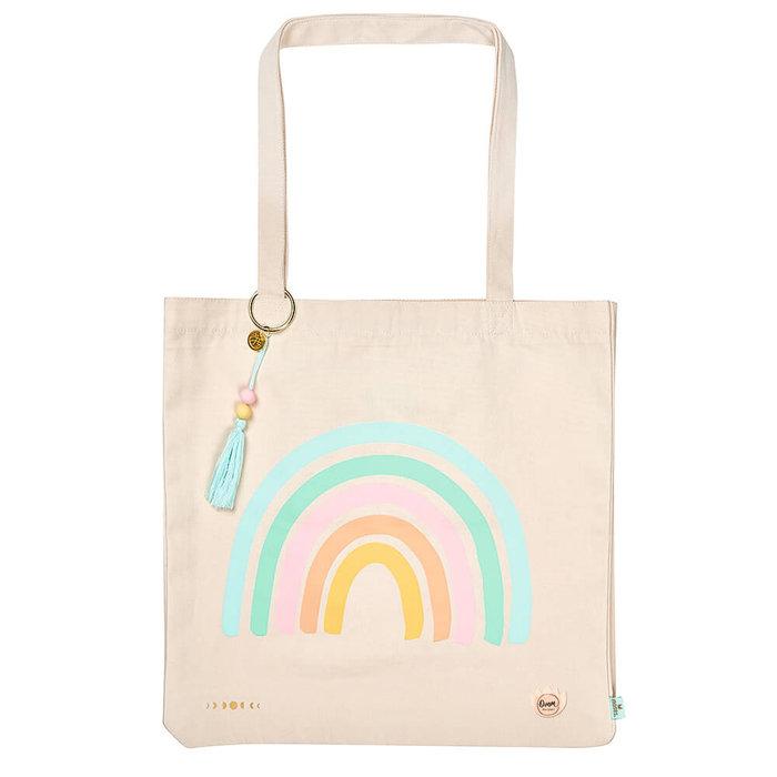 Bolsa de tela rainbow omm for you