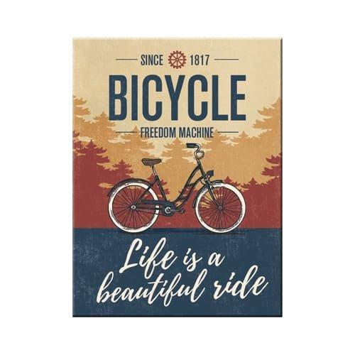 Iman 6x8 cm outdoor & activities bicycle - beautiful ride