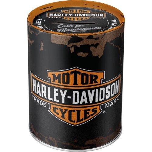 Hucha harley-davidson genuine logo