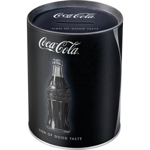 Hucha coca-cola- sign of good taste
