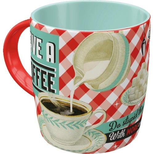 Taza 330ml say it 50´s have a coffee