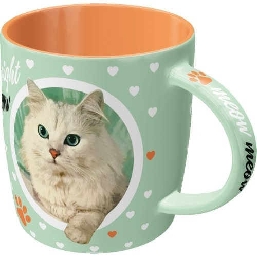 Taza 330ml animal club cat lover