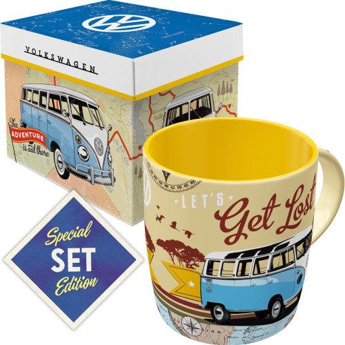 Set taza con caja nostalgic-art  volkswagen vw bulli