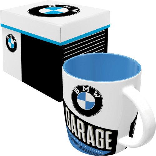 Set taza con caja nostalgic-art  bmw garage e. limitada