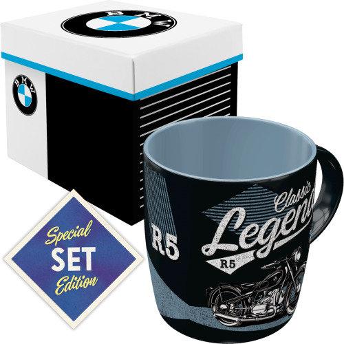 Set taza con caja nostalgic-art bmw legend e. limitada