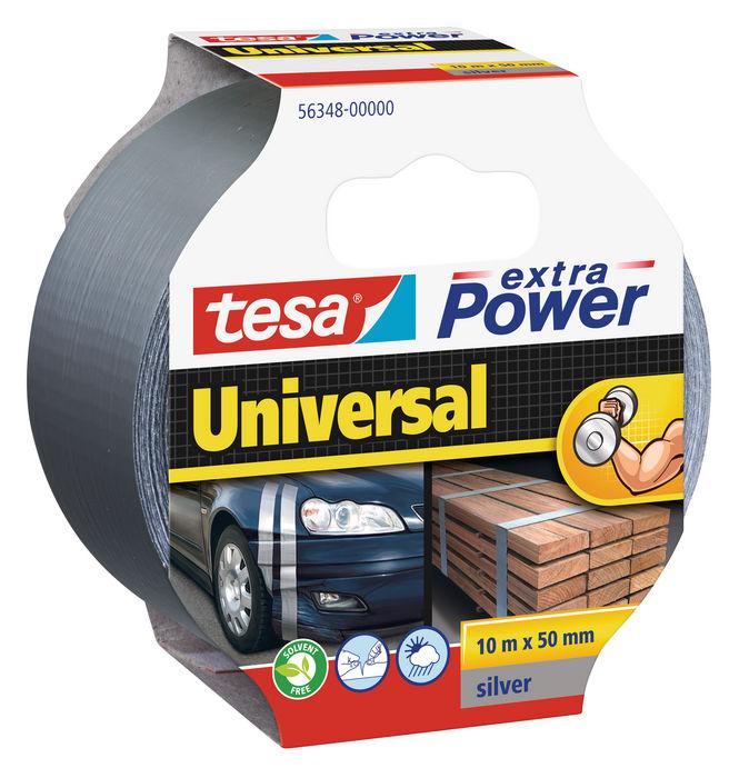 Cinta americana tesa extra power universal 10x50 plata