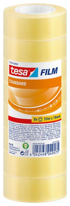 Cinta adhesiva 33x19 tesa transparente