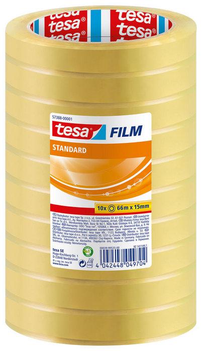 Cinta adhesiva 66x15 torre tesafilm