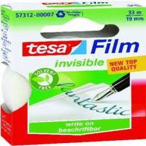 Cinta adhesiva 33x19 invisible