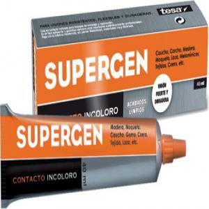 Pegamento supergen 40ml contacto incoloro