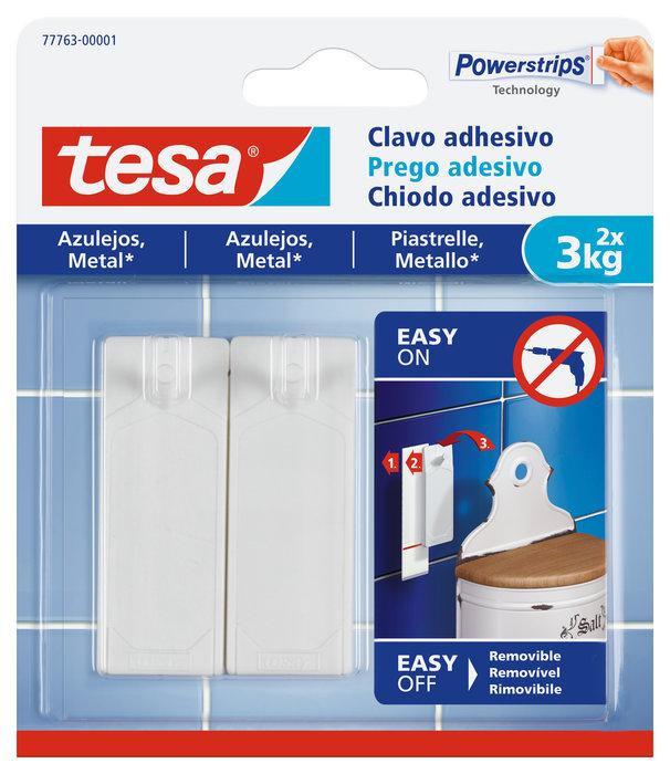 Clavo adhesivo tesa para azulejos hasta 3kg