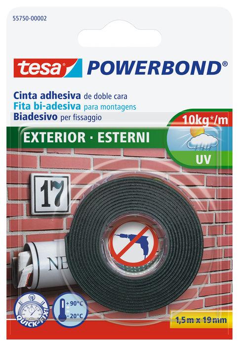 Cinta adhesiva doble cara 1,5x19 tesafix outdoor