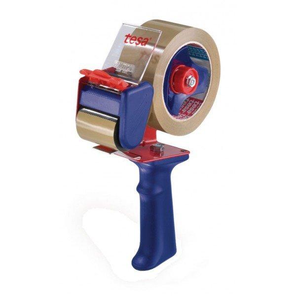 Maquina precintadora tesapack economy 66 mts rojo/azul