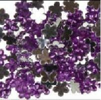 Piedra flor decorativa 100 pzas