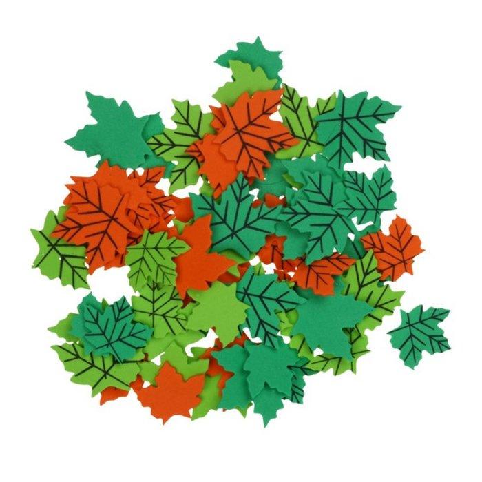 Blister hojas foam 60 unidades surtidas
