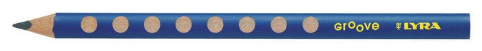 Lapiz grafito lyra groove grueso caja 12 ud