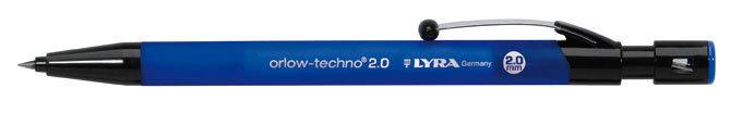 Portaminas 2mm lyra orlow techno 20 caja 10 ud