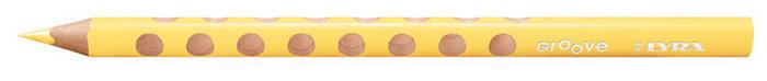 Lapiz de color lyra groove amarillo fluor caja 12 ud